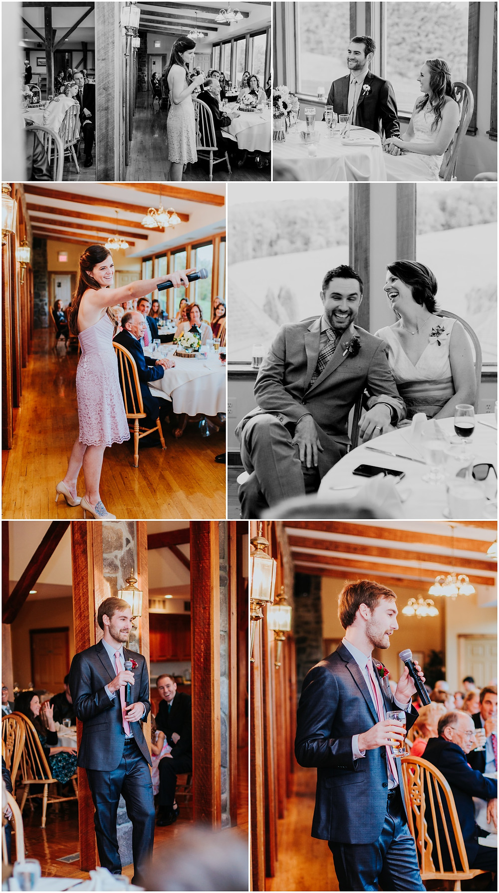 Reception at Morningside Inn, Frederick Maryland Wedding