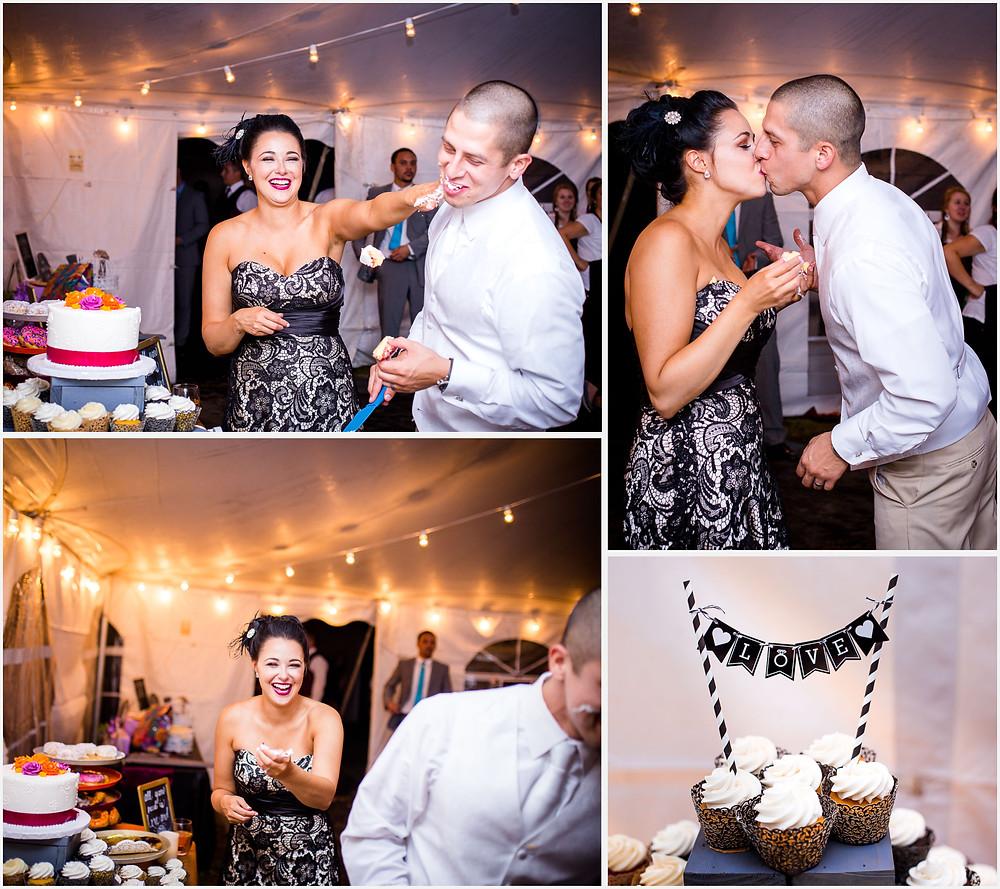 Baltimore Wedding Cupcake Smash