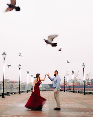 Fells-Point-Engagement-Baltimore-Wedding