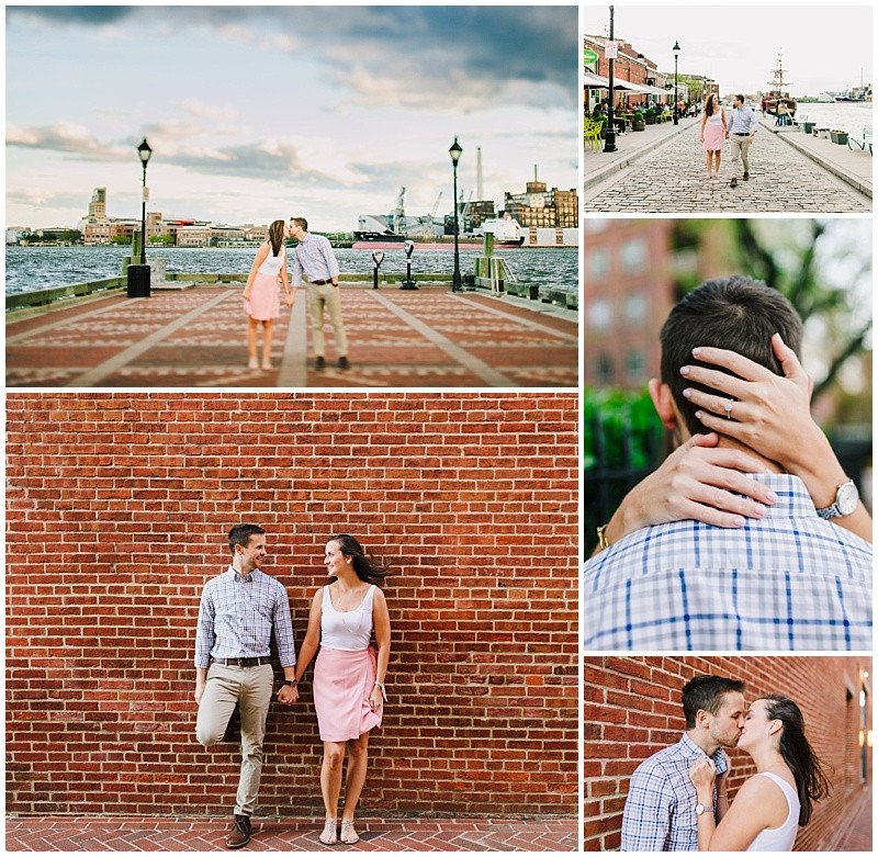 Baltimore Docks Engagement Session
