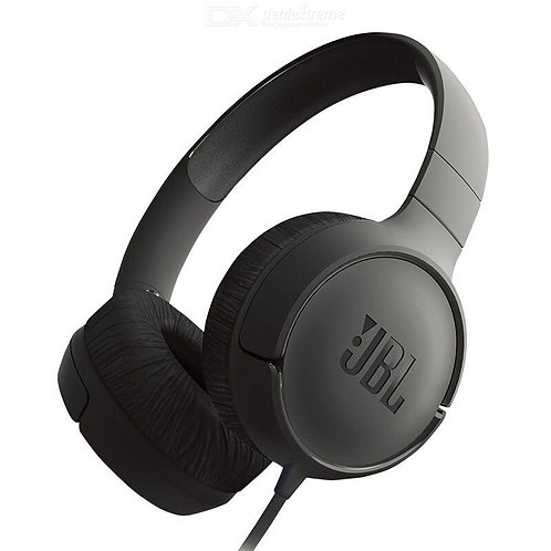 JBL T500 Wired Headphones, HD Stereo Noise Cancellation Headphones