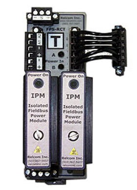 FPS-I, FPS-IPM, FPS-RC, FPS-RCT Redundant Fieldbus Power Supply
