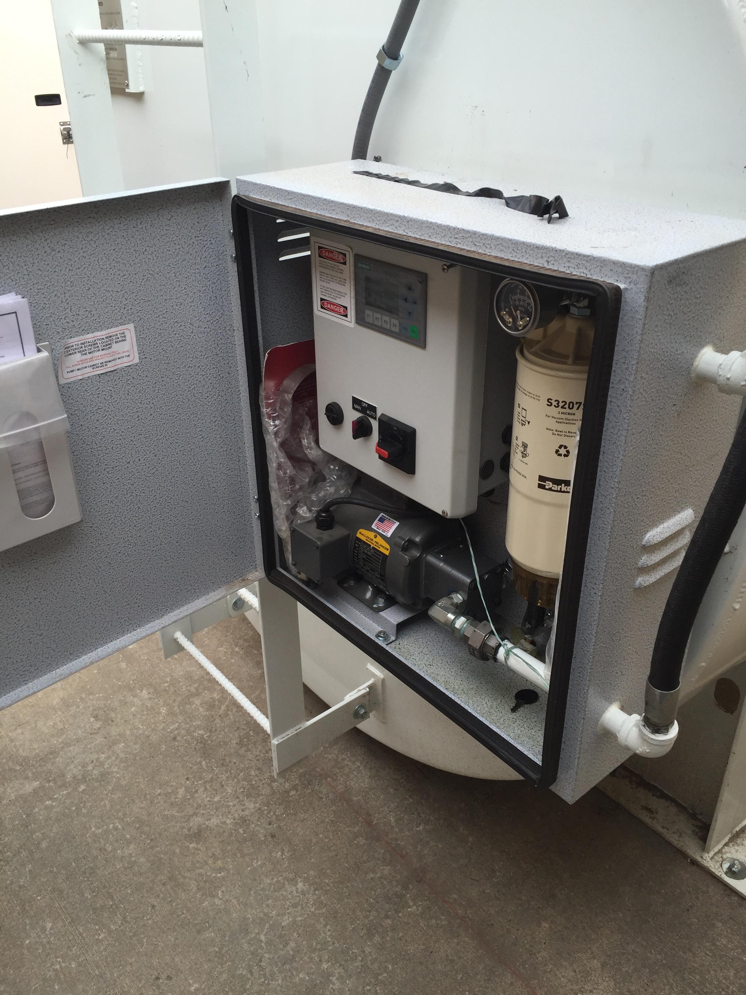 FTI-2.8 Fuel Maintenance System - Avista Utilities