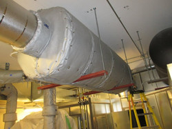 Removable Insulation Blanket Cover for Silencer with cutouts