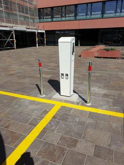 Elektroladestation für Autos