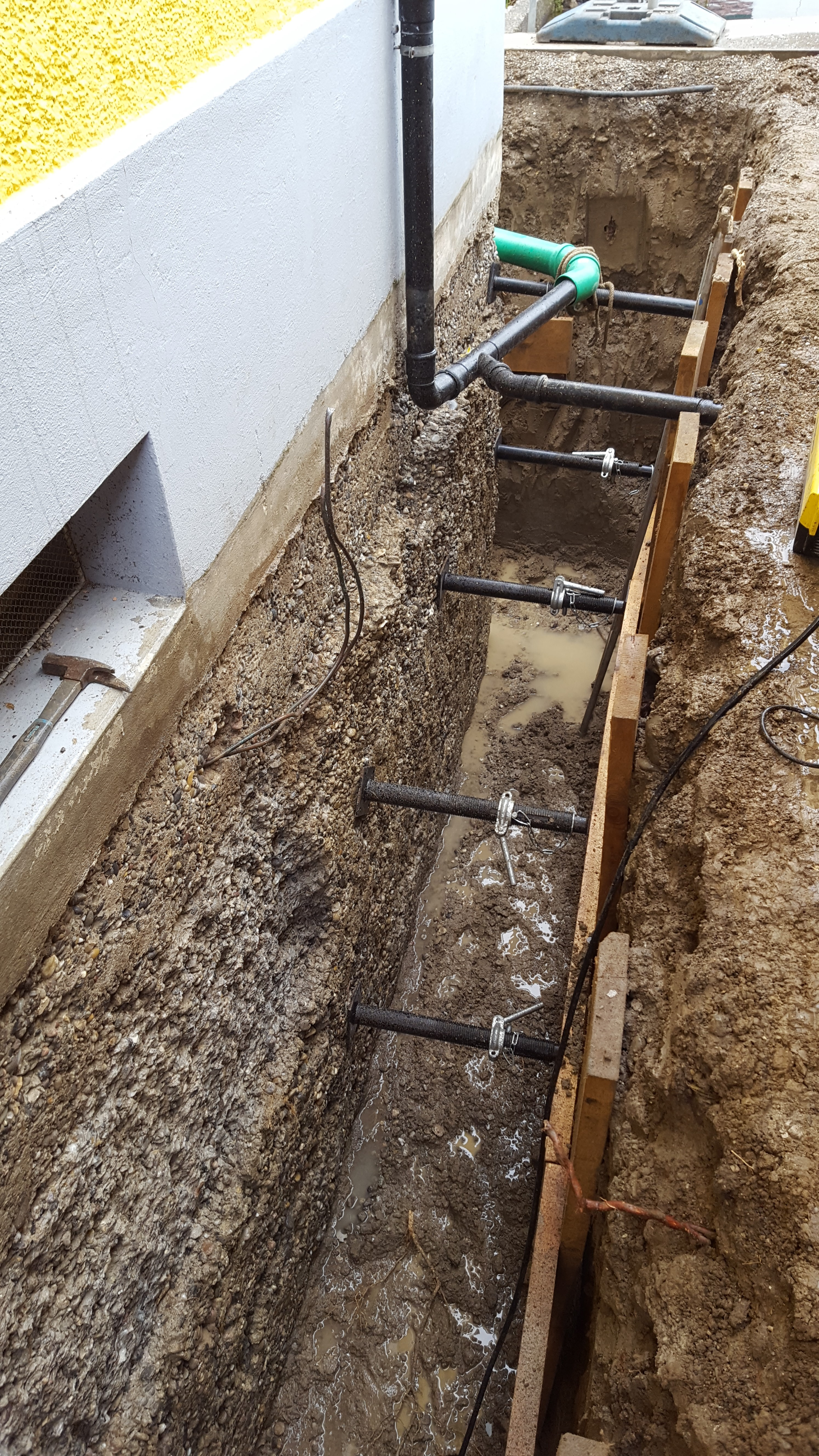 Wassereintritt in den Keller