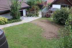 Instandstellung des Gartens