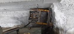 Installation oberhalb eines  Öltanks
