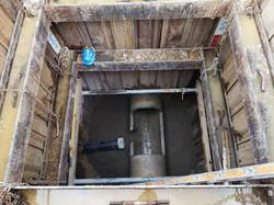 Neuer Kanalisationsanschluss