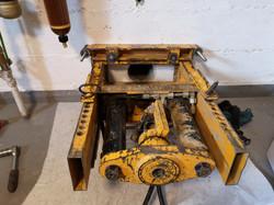 Mini Twinny Presssystem an der Wand montiert