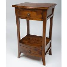 Mahogany 2 Drawer Console Table