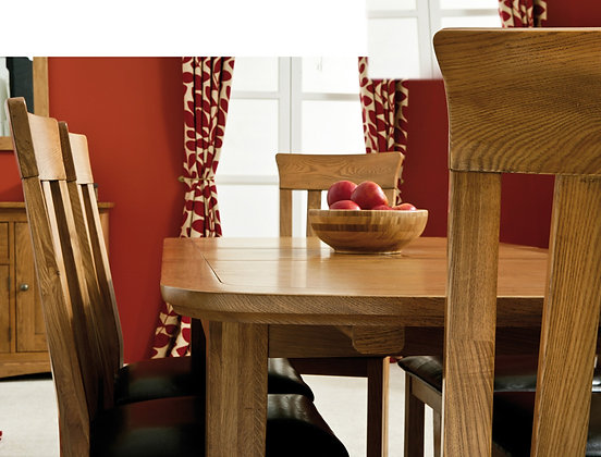 Merlot Table and Slat chairs