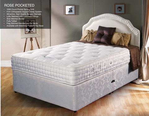 Rose 1000 Pocket Bed