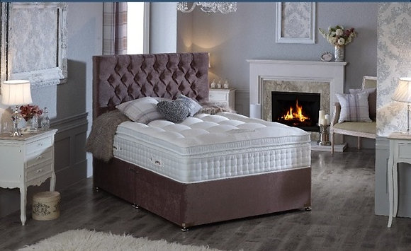 Natural collection pocket sprung bed