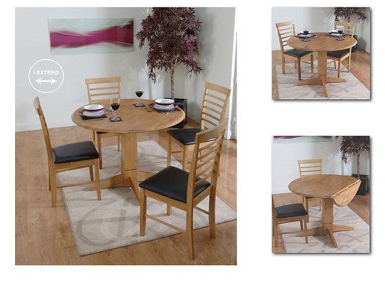 Hanover Pedestal Table set