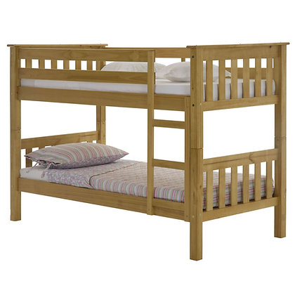 Barcelona Bunk Bed in Pine