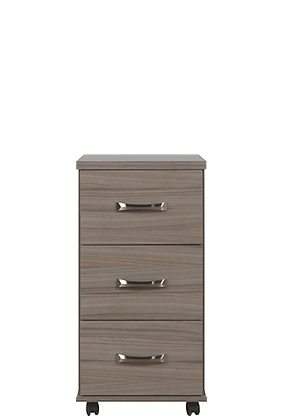 Solo 3 Drawer Narrow Chest
