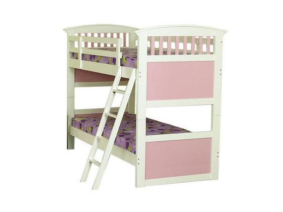 Kipling Bunk Bed in Pink