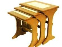 Tile Top Mini Nest of Tables