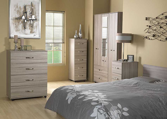 Solo Bedroom Set - Grey