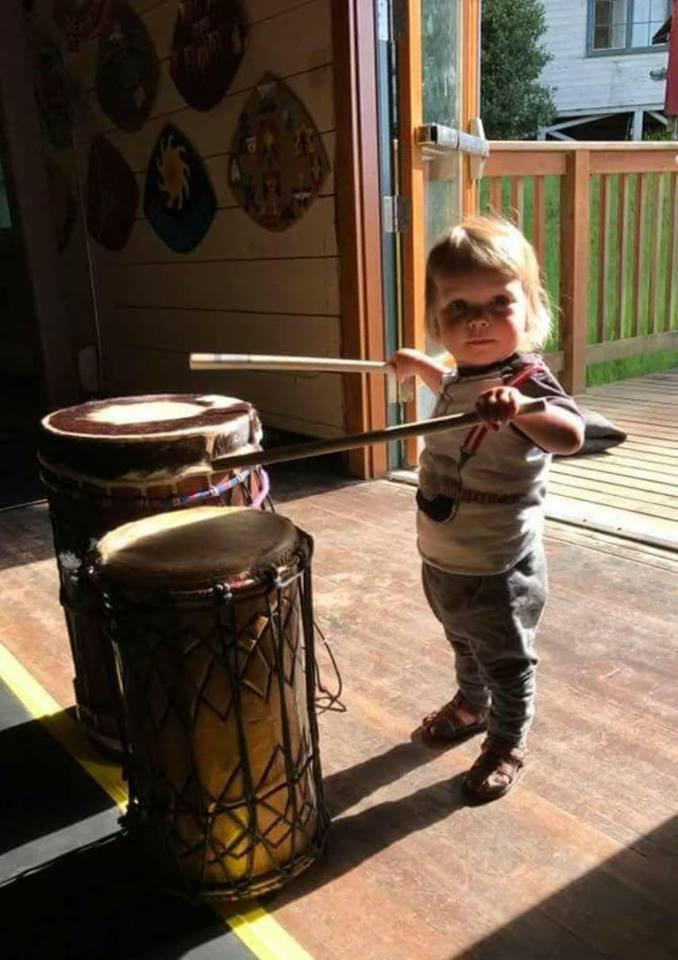 Baby Drummer