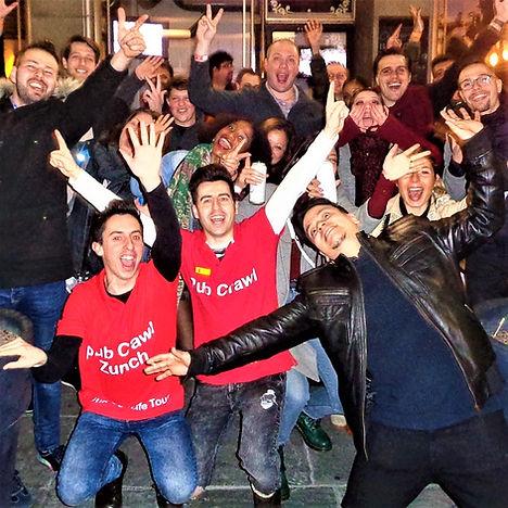 Pub Crawl Zurich