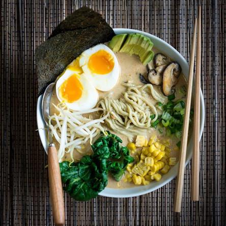 Tantanmen Ramen | Soy Sauce | Miso | Avocado