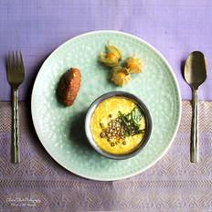 Teff Pongal | Sundried Tomato Green Olive Gotsu | Physalis