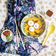Tang Yuan | Yuzu Sambal | Porcini Mushroom Tea