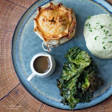 Masala British Pie | Bengkoang Mash | Porcini Gravy