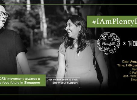 #IamPlentyLocal . Are you?