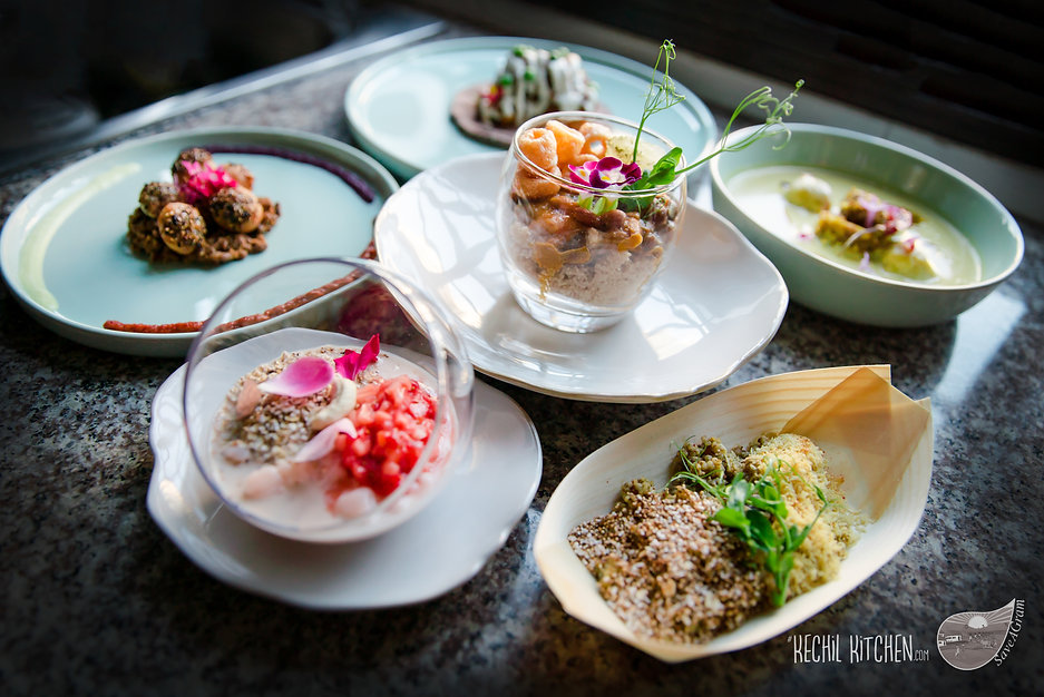 """A """"Farmer To Table"""" Dining Pop-Up with SaveAGram produce in Singapore. A Five course meal."""