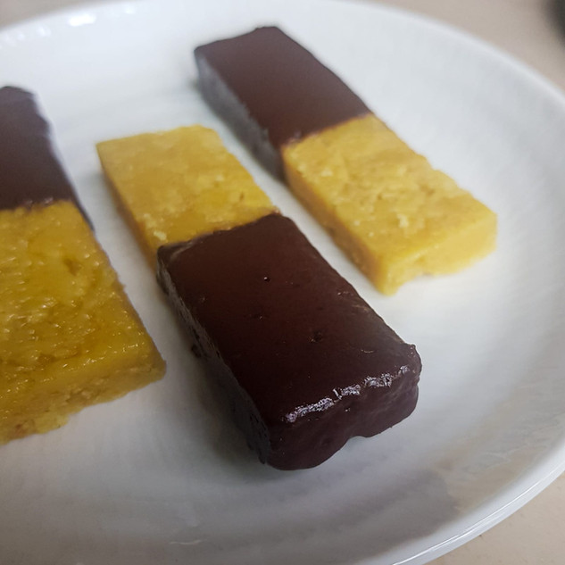 Dark Chocolate Mysore Pak