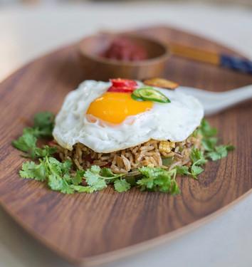 Wok-Hei-Fried Rice | Sambal | Fried Egg