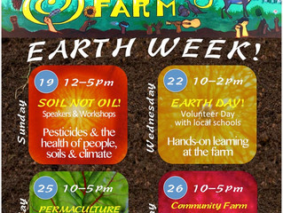 Celebrate Earth Week at the Gill Tract!