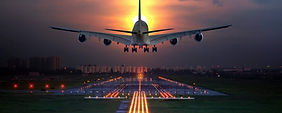 Natural-Big-airplane-landing-on-runway-a