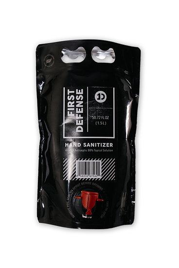 First Defense Hand Sanitizer 1.5 L (50.72 fl oz)