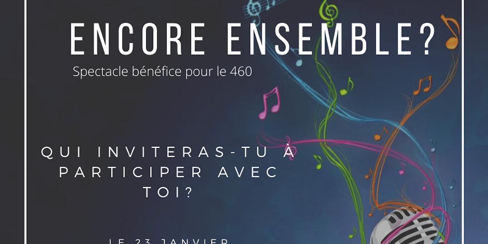 Concert bénéfice:  Si on chantait encore ensemble?