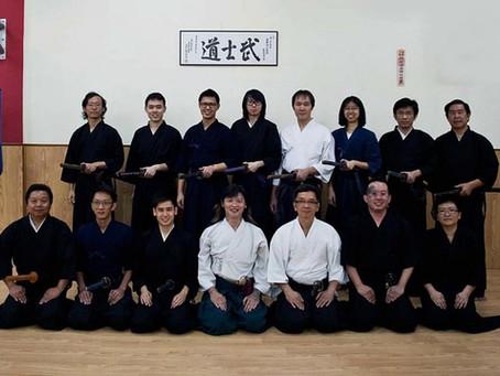 Cuong sensei from Boston Iaido
