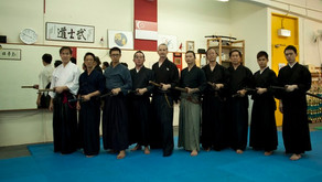 Andrej sensei's 2nd visit to the Eishin Ryu Iaido Singapore