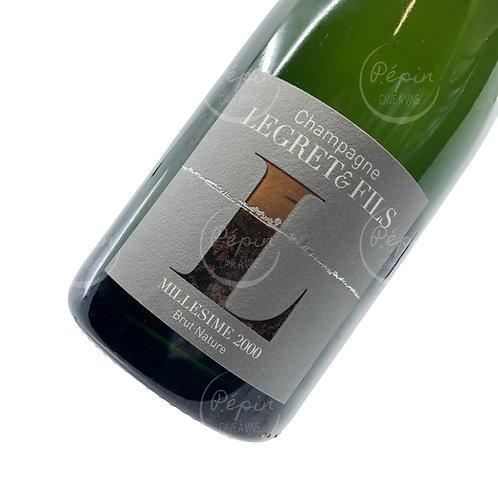 """""""Millésimé"""" 2000 Brut Nature - Champagne"""