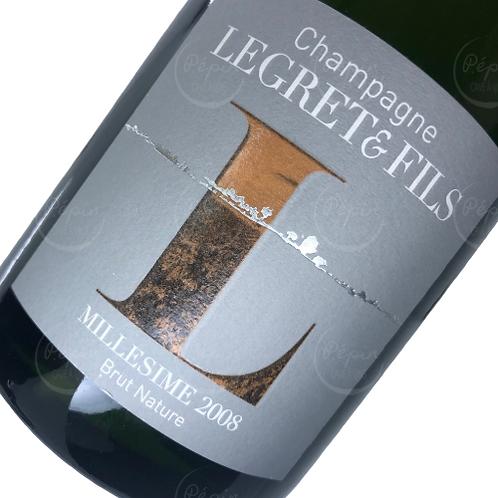 """""""Millésimé"""" 2008 Brut Nature - Champagne"""