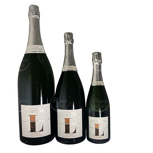 """JÉROBOAM """"Minérale"""" Blanc de Blancs Extra-Brut - Champagne"""