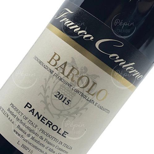 """1/2 bouteille de """"Panerole"""" 2015 - Barolo (Piémont)"""