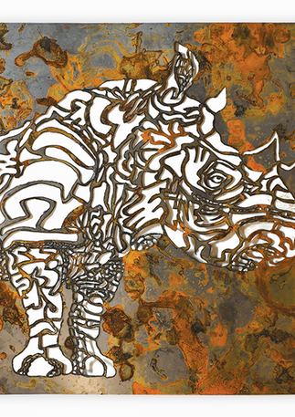 Organics:Rhino:Steel