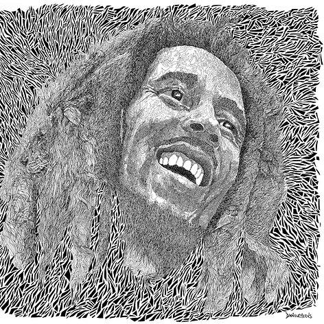 Bob Marley, Reggae Music, Portrait