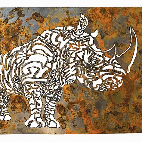 Undefined Organics: Steel: Rhino