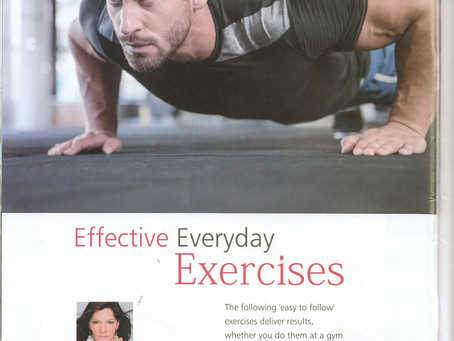 Effective Everyday Exercises, By Reema Sarin, Founder BOLLYFIT