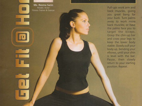 Get Fit at Home, By Reema Sarin, Founder BOLLYFIT