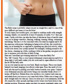 Ab Crunches to Trim that Belly Fat, By Reema Sarin, Founder BOLLYFIT